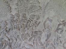 Relief hell, Angkor Wat